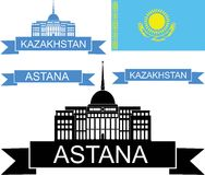 kazachstan Royalty-vrije Stock Fotografie
