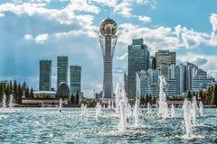 kazachstan astana royalty-vrije stock fotografie