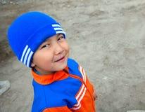 kazak мальчика шикарный немногая Стоковое Фото
