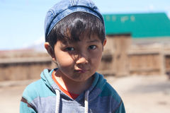 Kazak boy Stock Photography
