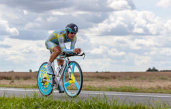 The Kazak cyclist Vinokourov Alexandre Stock Photo