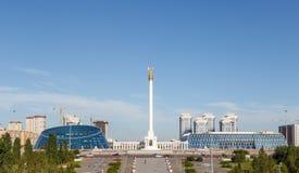 Kazak eli Stella. Independent symbol of Kazakhstan. Astana Royalty Free Stock Photography