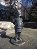 Kazak in Saratov. Kazak& x27;s monument in Saratov stock images