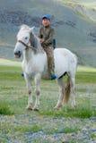 Kazakh αγόρι στοκ εικόνα