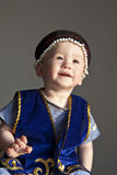 Kazakh boy Royalty Free Stock Photos