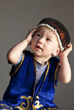 Kazakh boy Royalty Free Stock Image