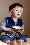Kazakh boy Stock Photo
