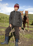 Kazakh boy Stock Photography