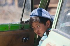 Kazakh boy Stock Photography