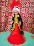 Kazakh doll Royalty Free Stock Photography