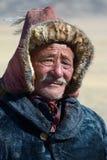 Kazakh Eagle Hunter 8 Stock Images