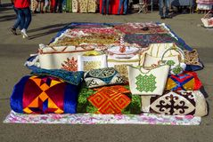 Kazakh ethnic souvenirs Stock Photo