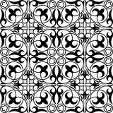 Kazakh geometrisch ornament Stock Illustratie