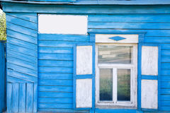 Kazakh house facade detail Stock Images