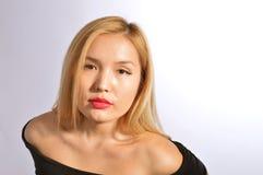 Kazakh model Royalty Free Stock Photo