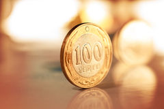 Kazakh money - Tenge Royalty Free Stock Images
