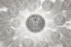 Kazakh money - Tenge Stock Photography