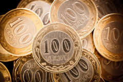 Kazakh money - tenge Royalty Free Stock Photo