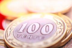 Kazakh money - tenge Royalty Free Stock Photo
