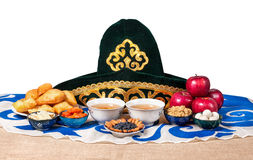 Kazakh national food Royalty Free Stock Image