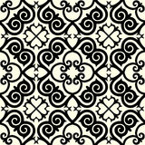 Kazakh national pattern ornament Stock Image