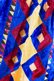Kazakh patchwork blanket Royalty Free Stock Photos