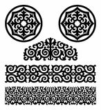 Kazakh pattern Royalty Free Stock Photo