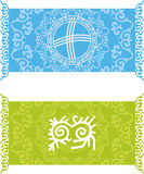 Kazakh pattern Royalty Free Stock Images