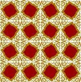Kazakh pattern. Traditional national background of Kazakhstan. T royalty free illustration
