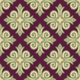 Kazakh pattern. Traditional national background of Kazakhstan. T Stock Photography