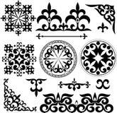 Kazakh patterns Royalty Free Stock Photography