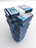 Kazakh Tenge Tower Royalty Free Stock Photography