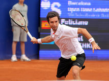 Kazakh tennis player Mikhail Kukushkin Stock Photos