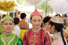 kazakhstan Royaltyfria Foton