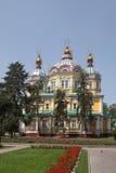 Kazakhstan. Almaty. Assumption Cathedral in Kazakhstan Stock Image