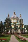 Kazakhstan. Almaty. Assumption Cathedral in Kazakhstan Royalty Free Stock Image