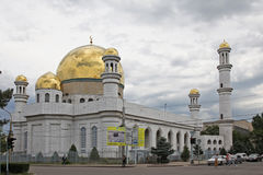 Kazakhstan. Almaty. Central Almaty Mosque Royalty Free Stock Photography