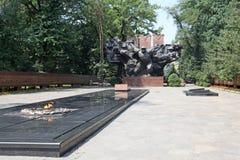 Kazakhstan. Almaty. War Memorial in Panfilov park. Stock Photo