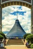 kazakhstan astana ` Di Khan Shatyr del ` del centro commerciale fotografia stock