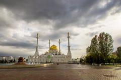 kazakhstan astana ` di Nur Astana del ` della moschea fotografia stock