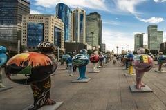 kazakhstan astana EXPO - 2017 Photos libres de droits