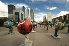 kazakhstan astana EXPO - 2017 nel centro urbano Fotografia Stock