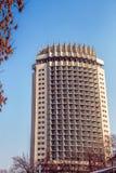 Kazakhstan Hotel  in Almaty, Kazakhstan Royalty Free Stock Images