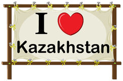 Kazakhstan Royalty Free Stock Photography