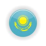 Kazakhstan icon circle. On white background. Astana icon vector illustration vector illustration