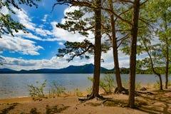 kazakhstan Lago Borovoe Imagen de archivo libre de regalías