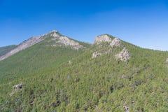 Kazakhstan mountains Stock Photo