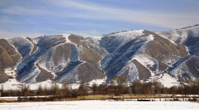 Kazakhstan mountings Royalty Free Stock Photo