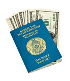 Kazakhstan passport Stock Image
