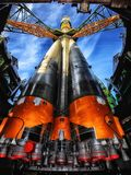 Kazakhstan, Soyuz, Rocket, Space Stock Photography